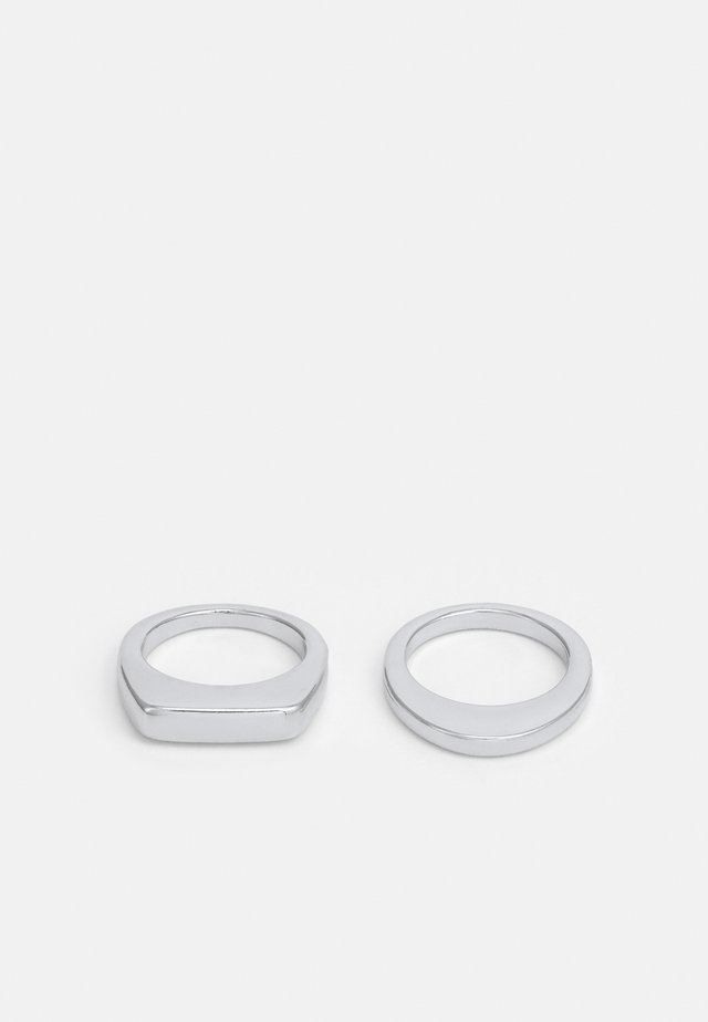 AYLA 2 PACK - Ring - silver-coloured