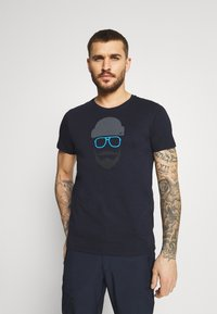 Icepeak - ALEDO - Print T-shirt - dark blue - 0