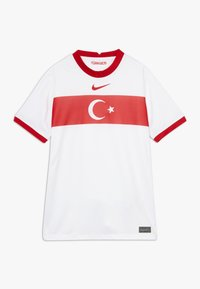 Nike Performance - TÜRKEI Y NK BRT STAD SS HM - National team wear - white/sport red - 0