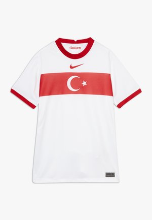 TÜRKEI Y NK BRT STAD SS HM - Oblečení národního týmu - white/sport red