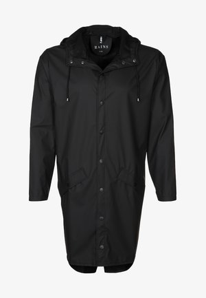 LONG JACKET UNISEX - Waterproof jacket - black