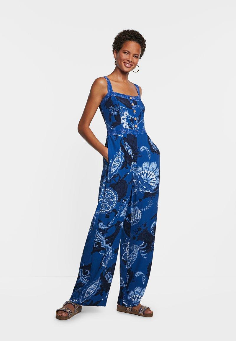 Desigual - PATRICIA - Jumpsuit - blue