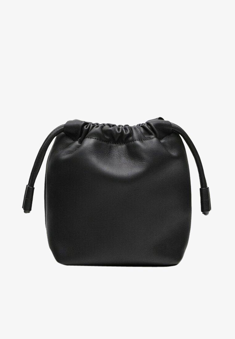 Massimo Dutti - Across body bag - black