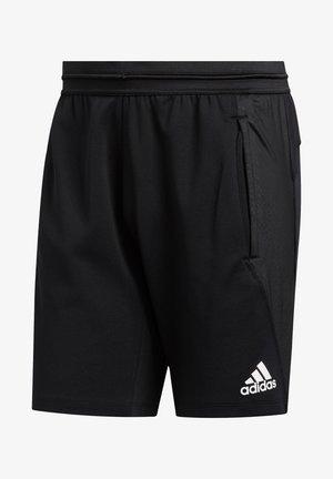 4KRFT PRIMEBLUE TRAININGSSHORT HERREN - Sports shorts - black