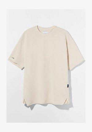 SHORT SLEEVE SWEAT - Basic T-shirt - light grey