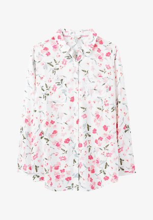 Button-down blouse - cremefarben floral