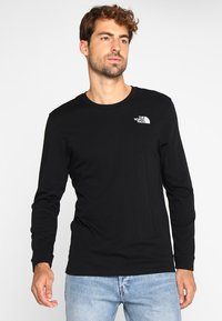 The North Face - SIMPLE DOME - Langærmede T-shirts - black - 0