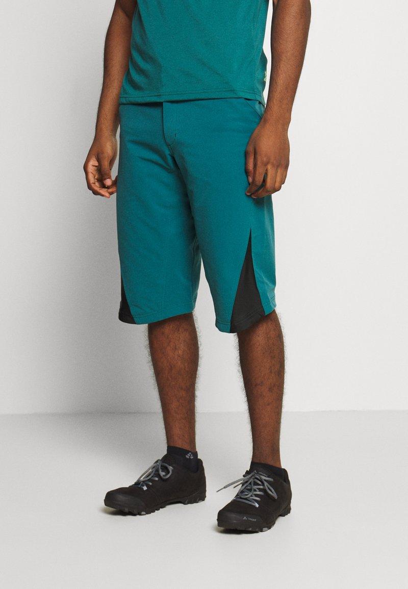 Zimtstern - STARFLOWZ SHORT MEN - kurze Sporthose - pacific/black