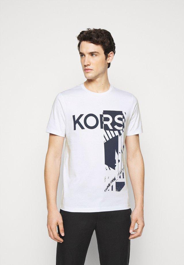 POCKET TEE - T-shirt con stampa - white
