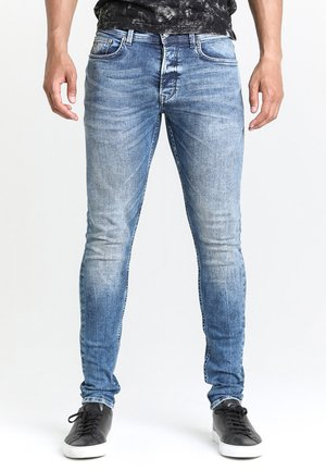 EGO LOGAN - Slim fit jeans - blue