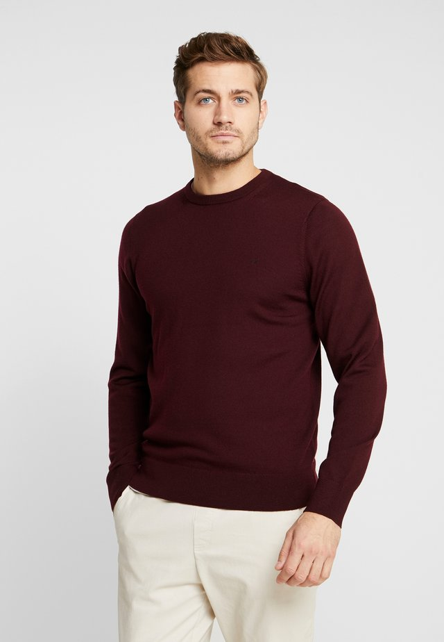 SUPERIOR CREW NECK  - Neule - red