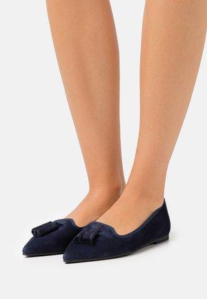 ELLA - Ballet pumps - dunkel blau