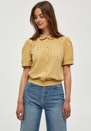 ZITA - Button-down blouse - prairie sand