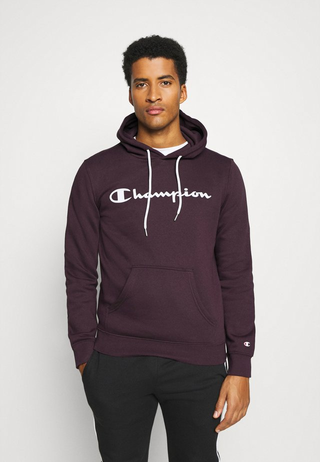 LEGACY HOODED - Jersey con capucha - dark purple