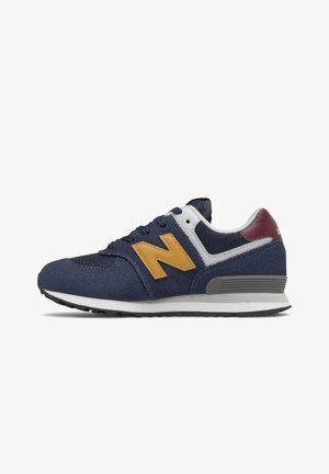 Sneakers laag - natural indigo/aspen