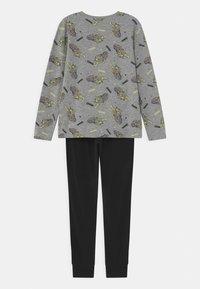 Name it - NKMNIGHT TIGER GLOW SET - Pyjama set - grey melange - 1
