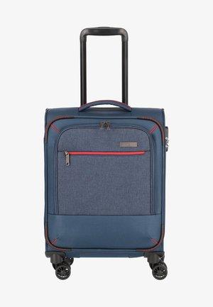 ARONA - Wheeled suitcase - marine