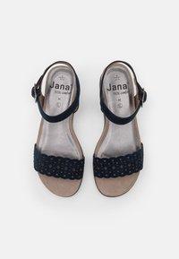 Jana - Wedge sandals - navy - 5
