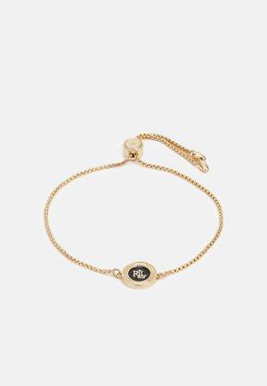 SLIDER - Armbånd - gold-coloured/black