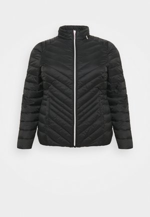 LIGHTEWEIGHT PADDED SHORT COAT - Light jacket - black