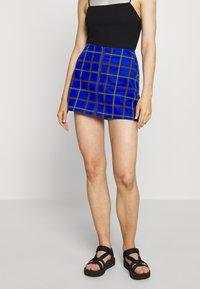Obey Clothing - BAILEY SKIRT - Minisukně - blue - 0