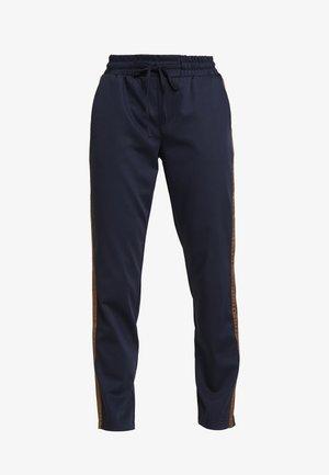 KAEVA 7/8 PANTS - Trousers - midnight marine