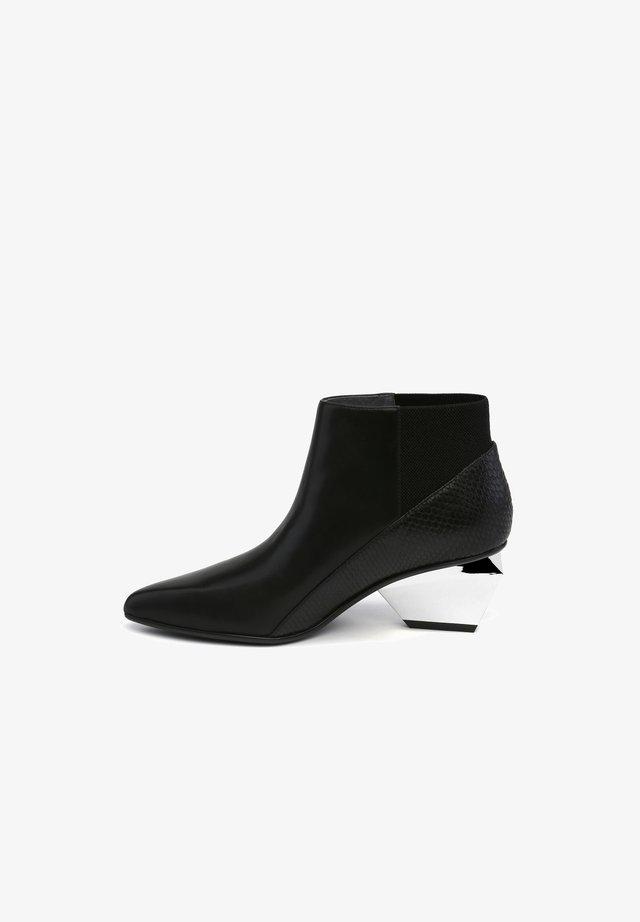 JACKY METAL MID - Ankle boots - black