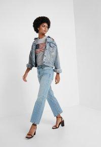 Polo Ralph Lauren - MIKAELA WASH - Flared Jeans - light indigo - 1