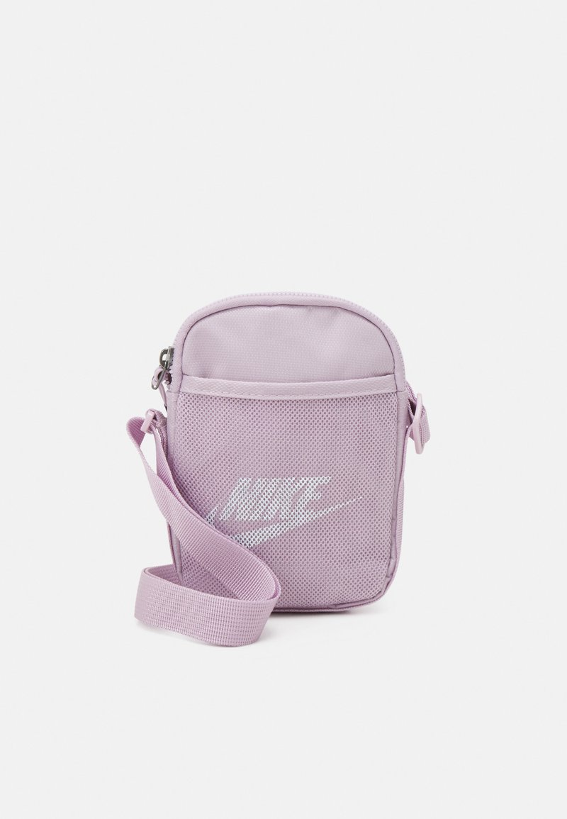 Nike Sportswear - HERITAGE UNISEX - Umhängetasche - iced lilac/iced lilac/white