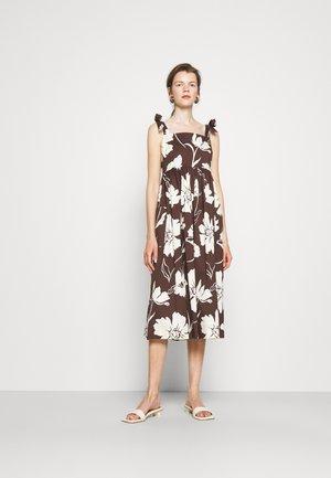 TIE SHOULDER BEACH DRESS - Maxi dress - daisy