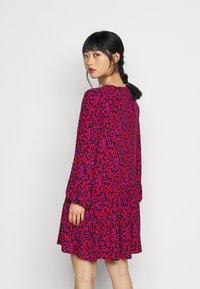 GAP Petite - TIERED MINI - Day dress - pink - 2