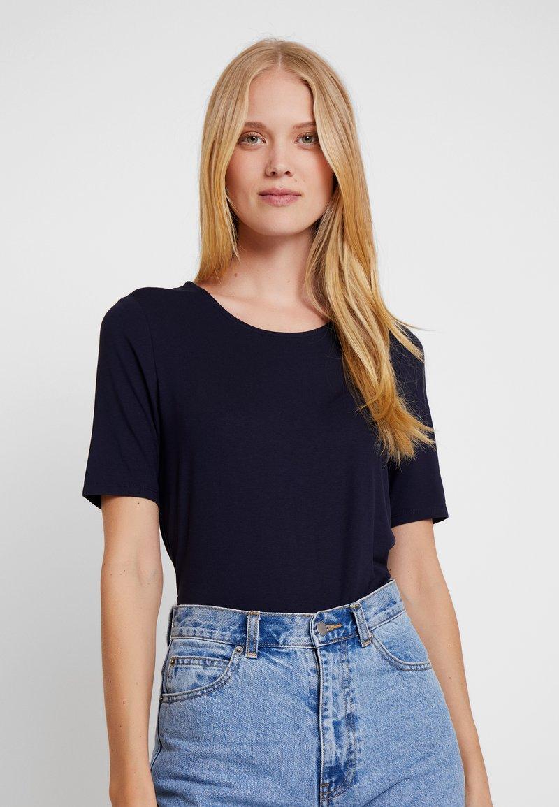 s.Oliver - T-shirts print - navy