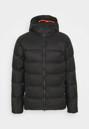 MERON IN HOODED JACKET MEN - Doudoune - black