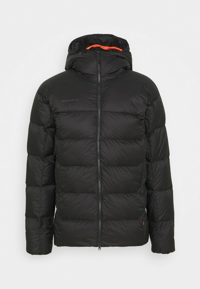 MERON IN HOODED JACKET MEN - Untuvatakki - black