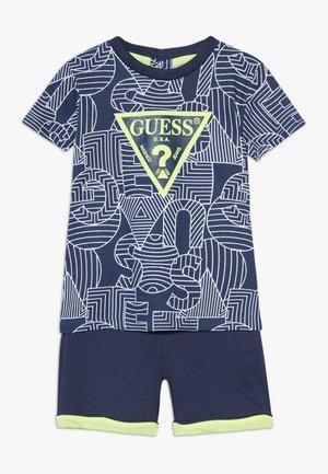 SET - Pantalon de survêtement - dark blue