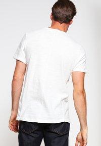 rag & bone - CLASSIC TEE - T-shirt basique - white - 2