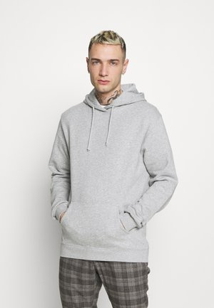 UNISEX ESSENTIAL - Sweat à capuche - light grey