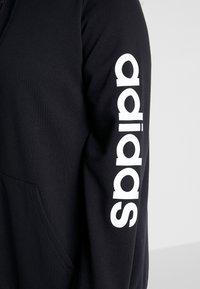 adidas Performance - Felpa aperta - black/white - 6