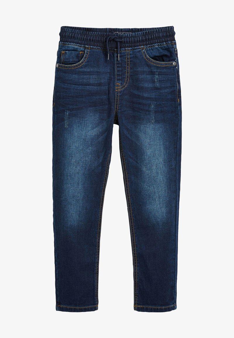 Next - VINTAGE - Slim fit jeans - mottled blue