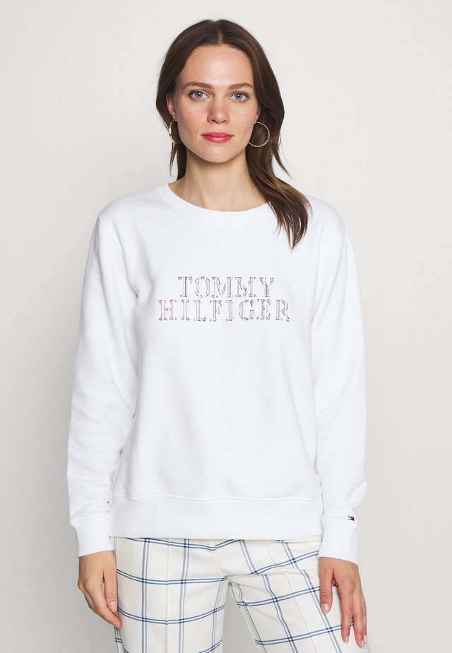 CHRISTA - Sweatshirt - white