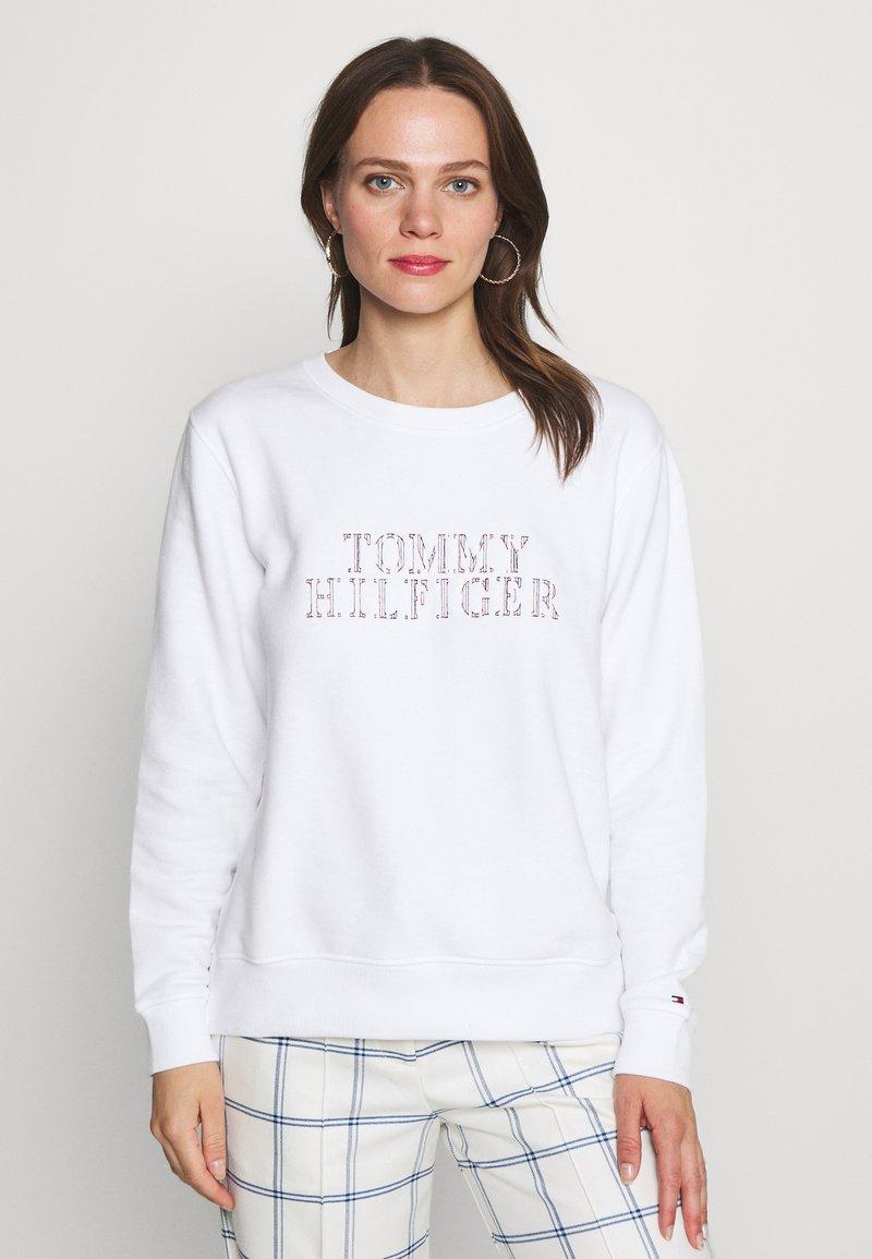 Tommy Hilfiger - CHRISTA - Sweatshirt - white