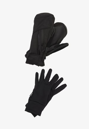 BAKER 2 IN 1 - Mittens - true black