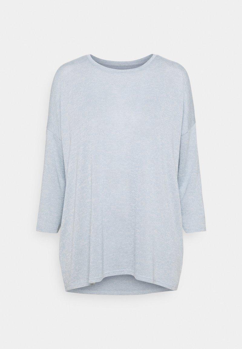 Vero Moda Tall - VMBRIANNA - Jumper - blue fog/birch melange