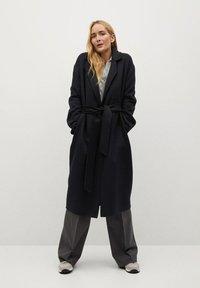 Mango - Klasický kabát - schwarz - 1