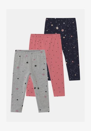 3 PACK - Leggings - Trousers - foxglove