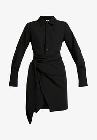 Nly by Nelly - WRAPPED DRESS - Paitamekko - black - 5