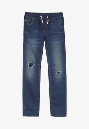 BOY DESTROY - Slim fit jeans - blue denim