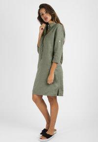 mint&mia - Shirt dress - khaki - 1