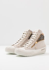 Candice Cooper - BEVERLY - Sneakers alte - tortora/gold - 4