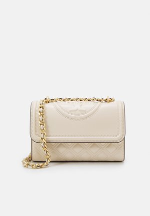 FLEMING SMALL CONVERTIBLE SHOULDER BAG - Taška s příčným popruhem - new cream